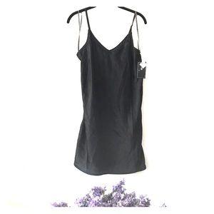 Volcom black mini dress